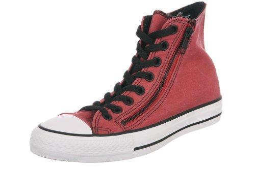 Converse Chuck Taylor Dbl Zip Hi Sneakers Rosse (140195c)
