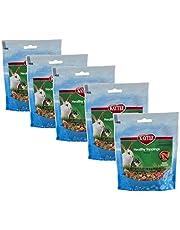 Kaytee Healthy Toppings for Small Animals, Papaya, Pack of 5