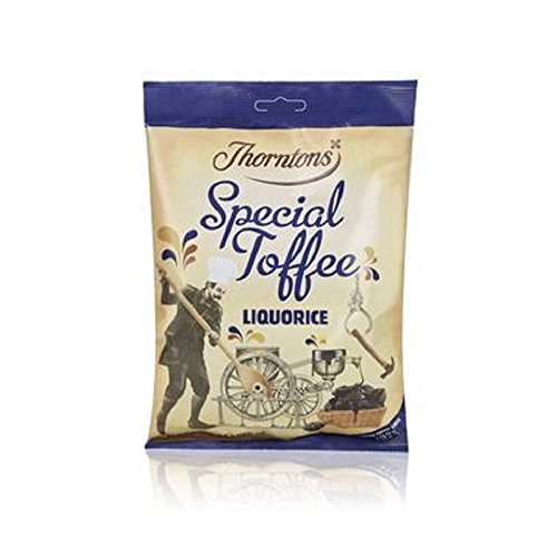 Thorntons Liquorice Special Toffee Bag (300g) (Pack of 2)