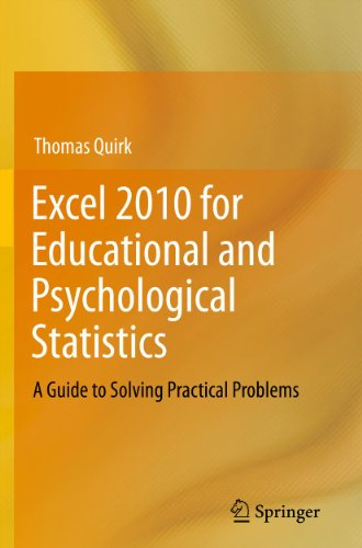 Download Excel 2010 for Educational and Psychological Statistics Pdf