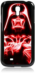 Darth vader red saber - Hard Black Plastic Snap - On Case-Galaxy s4 i9500 - Great Quality!