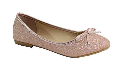By Ballerine Shoes Paillet Plate Style 1C4p1r