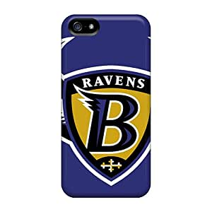 Durable Hard Phone Covers For Apple Iphone 5/5s With Support Your Personal Customized Beautiful Baltimore Ravens Pictures IanJoeyPatricia