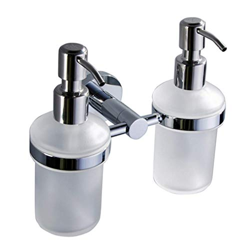 - Aiweasi Sophisticated soap Dispenser Double Soap Liquid Bath Shampoo Soap Bar Hotel Family Villa Special Bathroom Bath