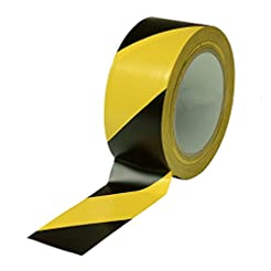 Black & Yellow Hazard Warning Safety Str...