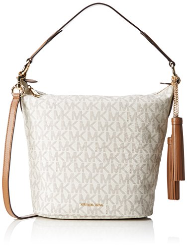 MICHAEL Michael Kors Women's Elana Large Convertible Shoulder Vanilla Handbag by MICHAEL Michael Kors