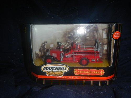 Matchbox Vintage Fire Collection 1932 Ford AA Open Cab Fire Engine