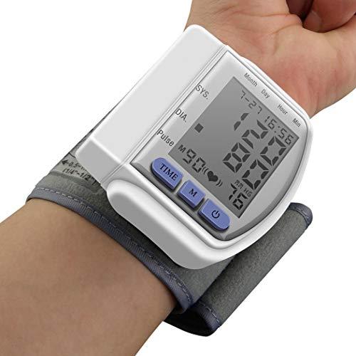 Redpol Durable Automatic LCD Digital Display Wrist Blood Pressure Monitor Pulse Oximeters