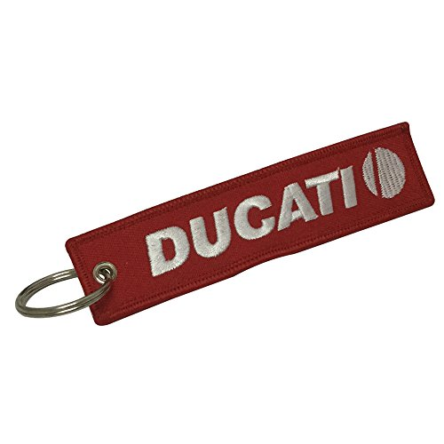 Tagg 1pcs Tag Keychain For Ducati Motorcycles Bike Biker Key Chain Accessories Gifts