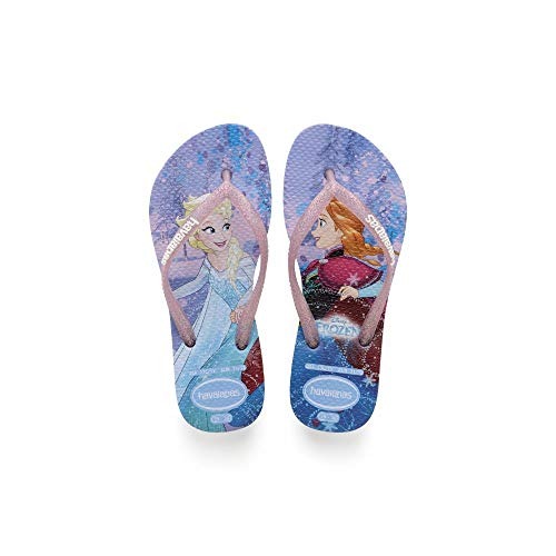 Havaianas Baby Slim Frozen, Blue, 31/32 BR (2 M US Little Kid) ()