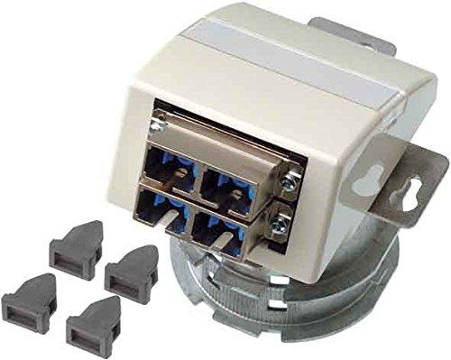 Teleg/ärtner Anschlussdose OAD//S H02051C0514 m.2xSC-D aws Kommunikationsanschlussdose LWL 4018359267568