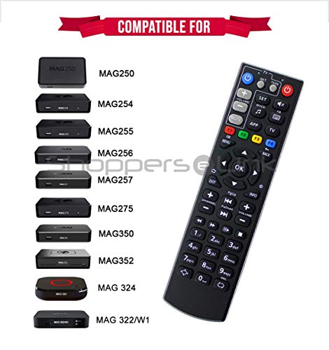 New Replacement Big Remote Control for TV Box Mag254 Mag250 Mag256