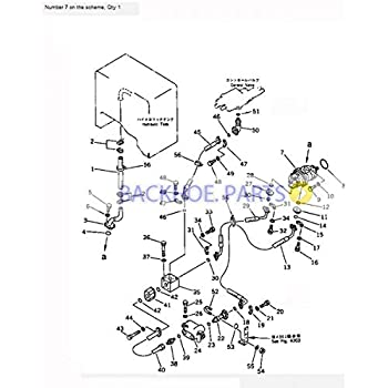 amazon for komatsu wheel loader wa250 3 wa250l 3 wa200 1 wa200 Exploded Gun Diagrams for komatsu wheel loader wa250 1 hydraulic pump 705 51 20300