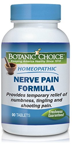 100 Belladonna Tabs (Botanic Choice Nerve Pain, 90 Tablets (Pack of 12))