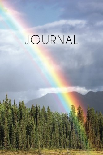 Journal: Rainbow Journal, 6x9; Lightly Lined, 160 Pages, Perfect for Notes and Journaling (Rainbow Journals) (Volume 1)