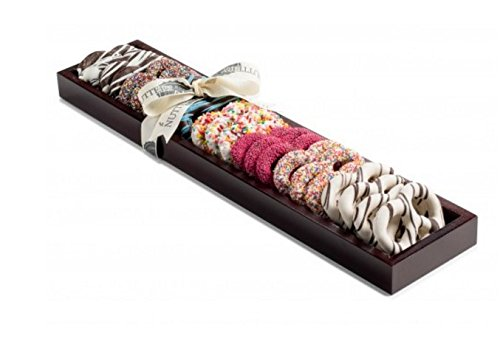 The Nuttery Chocolate Covered Pretzels Gift Box, Assorted