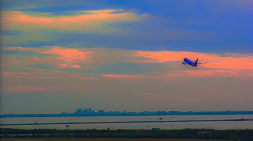 Soaring Southwest in Tampa, Florida Photographic Canvas Print ()