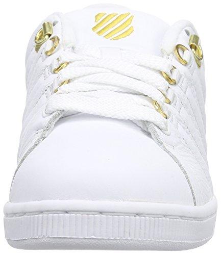 Lozan 50th swiss white gold White Iii Donna K Ginnastica Scarpe Da g5tq1n1