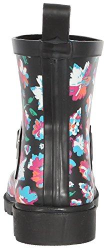 Black Ladies Pink Rain York Umbrella Printed Capelli New Boot Short Tq8p7Ow
