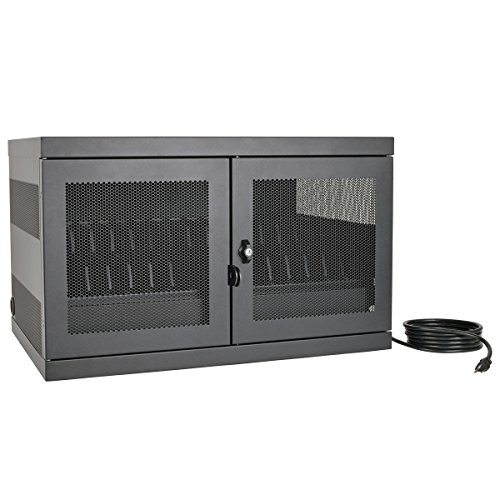 Tripp Lite 16-Port AC Charging Storage Station Cabinet for Chromebooks, Laptops & Tablets, 17'' Depth, Wall Mount & Cart Options (CSC16AC) by Tripp Lite (Image #2)