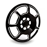 Arlen Ness 03-914 Black Front Speaker Grille