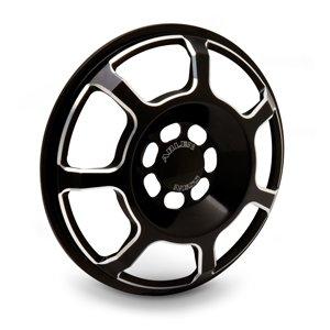 Arlen Ness 03-914 Black Front Speaker Grille by Arlen Ness
