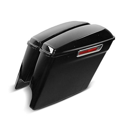 Seitenkoffer-Verl/ängerung f/ür Harley Davidson Road Glide 98-09 Craftride