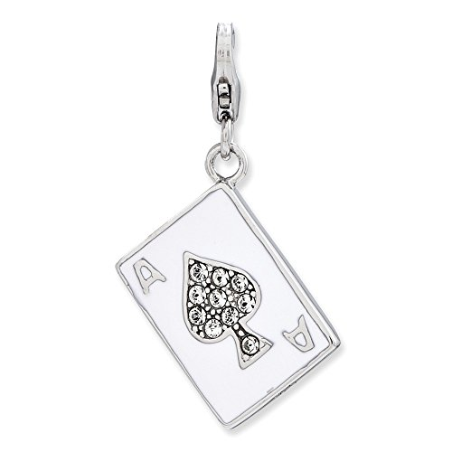 sterling-silver-w-rhodium-plated-enameled-3-d-ace-w-lobster-clasp-charm-16in-long-x-05in-wide