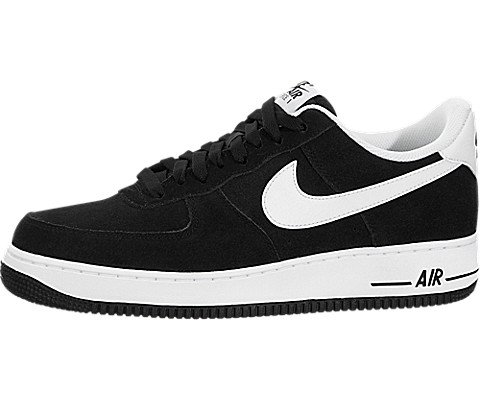 newest collection 133ab 73126 Galleon - NIKE Men s Air Force 1  07 Black White Basketball Shoe 13 Men US