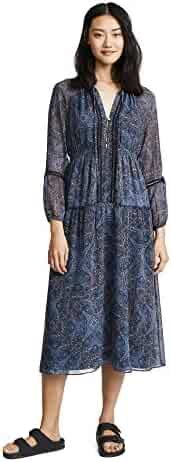 Ella Moss Women's Long Sleeve Raglan Maxi
