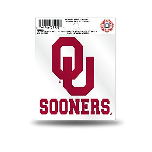 Rico NCAA Oklahoma Sooners Small Static Decal