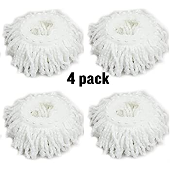 Amazon Com Microfiber Spin Mop Replacement Mop Head By