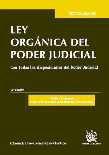 Descargar Libro Ley Orgánica Del Poder Judicial 12a Ed. 2011 Juan Montero Aroca