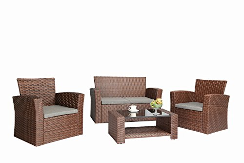 Baner Garden (N87) 4 Pieces Outdoor Furn - Outdoor Furniture Set Shopping Results