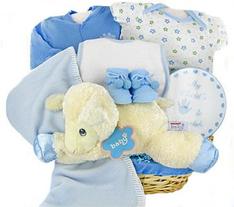 Lamby Nap Time Boy Gift Basket