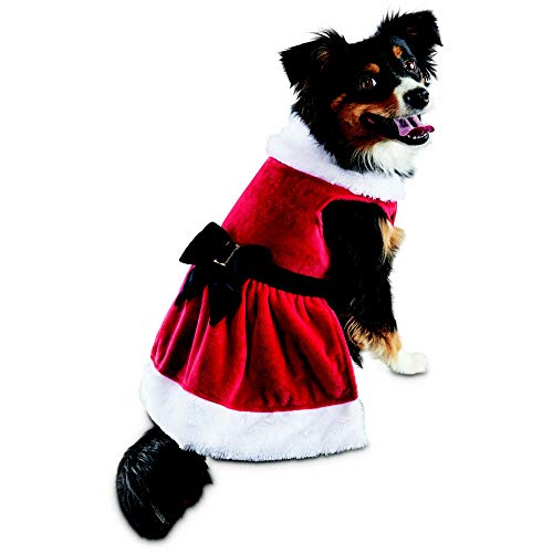 Holiday Tails Mrs. Claus Dog Costume,