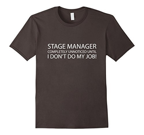 Stage Manager Tech Team Theater T-Shirt