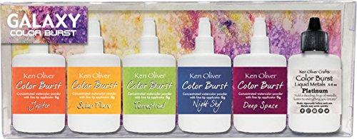 Ken Oliver KN-08176 Color Burst Powder, Multicolor by Ken Oliver