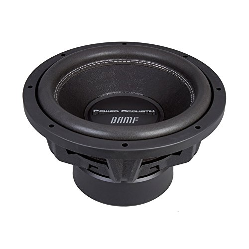 - Power Acoustik BAMF-122 Bumper-122 Subwoofer 3500 Watts 12 inches Dual Suspension