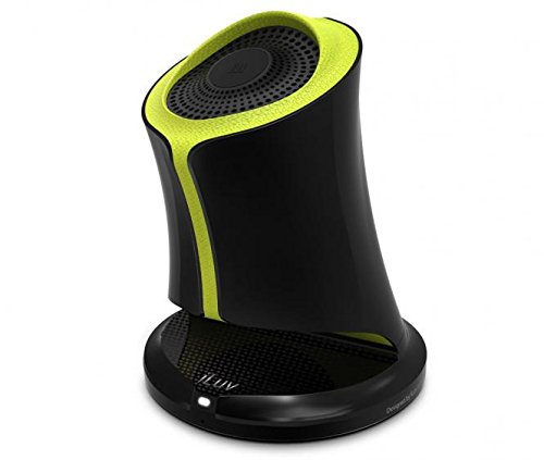 (iLuv Syren Nfc-enabled Bluetooth Portable Speaker (Green). Works with all iPhones (iPhone 6, 5, 5s, 5c, 5, 4s) and all Galaxy Phones and Bluetooth Devices)