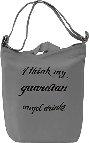 Guardian Angel Borsa Giornaliera Canvas Canvas Day Bag| 100% Premium Cotton Canvas| DTG Printing|