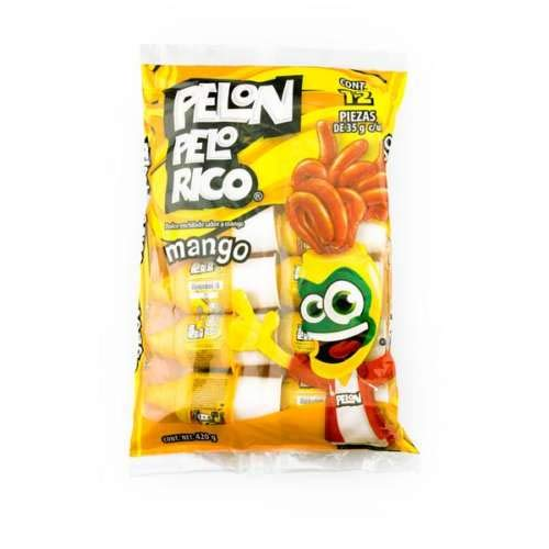 Pelon Pelo rico Mango Bag of 12