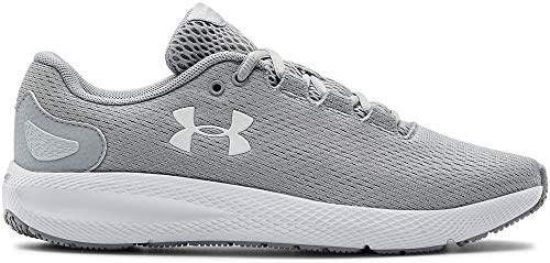 Under Armour UA W Charged Pursuit 2, Zapatillas de Running para Mujer, Gris (Mod Gray/White/White), 37.5 EU
