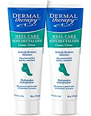 Dermal Therapy Heel Care Cream - Moisturizing Treatment that Repairs and Heals Dry, Rough, Cracked Heels and Feet (3 oz / 90g) - Pack of 2