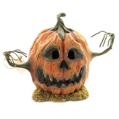Halloween INTO The Woods Pumpkin. Polyresin Scary Tree Limb Arms Td6043 Tall