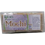 Eden Foods Organic Sweet Brown Rice Mochi -- 10.5 oz - 2 pc