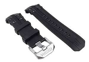 Festina Ersatzband Kautschuk 23mm schwarz für Chrono Bike F16600