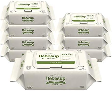 BEBESUP Zero Premium Baby Wipes for Sensitive Skins | Flip