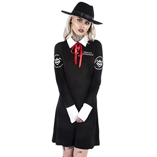 Ghostwood Strange Schwarz Gothic Killstar I'm Kleid FwzpqR