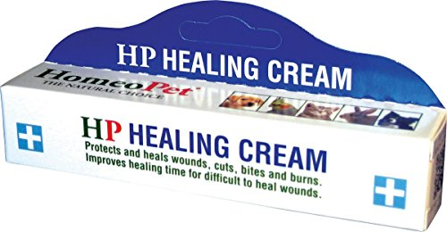 HomeoPet HP Healing Cream, 14g (Best Topical For Wound Healing)